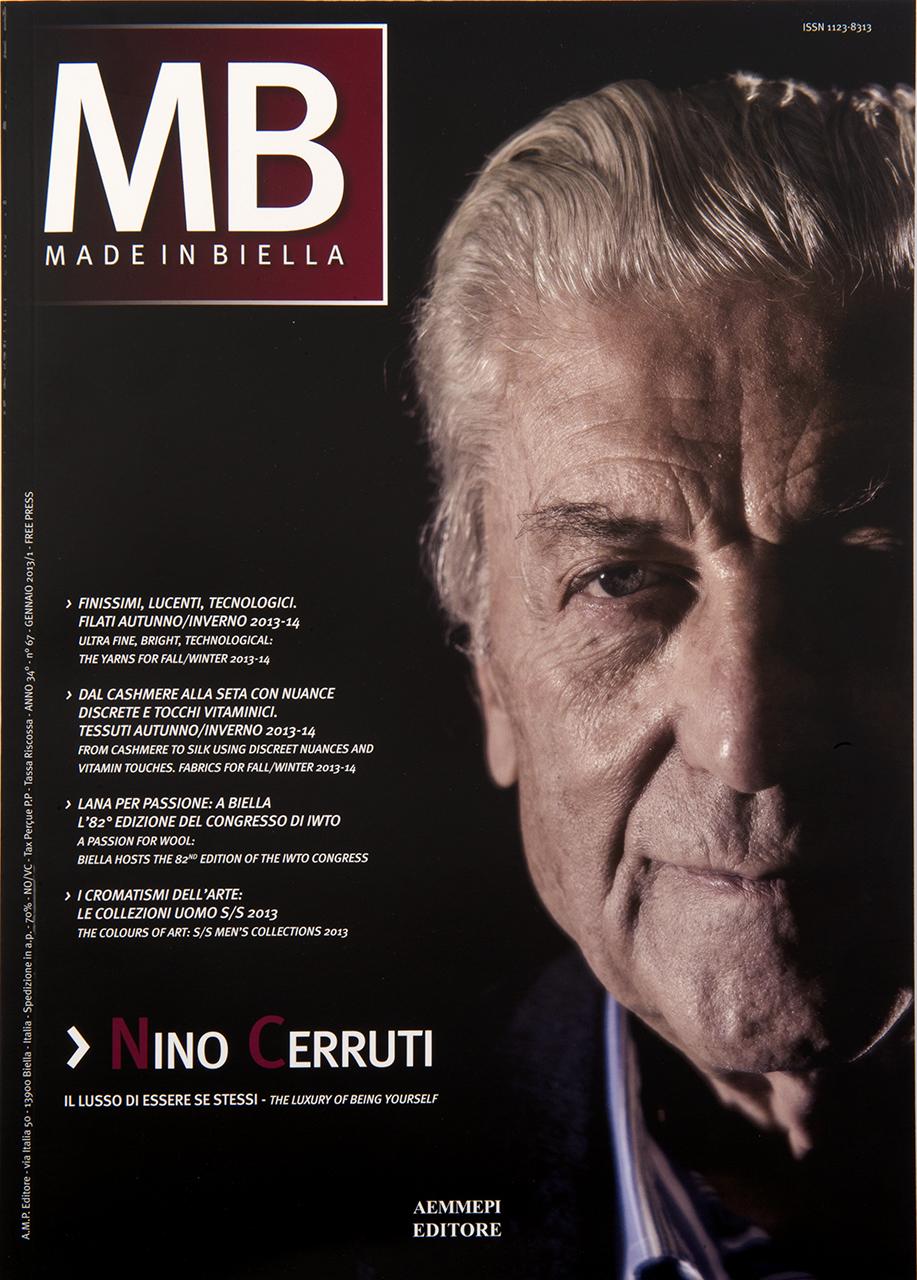 MIB - Nino Cerruti Photo Shoot